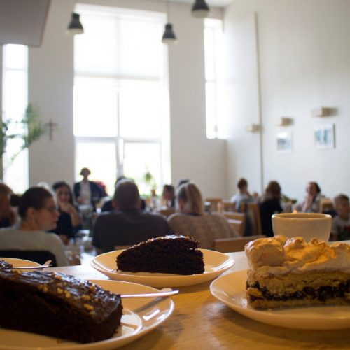 """Kavinės – mokymų centro """"Agapė"""" gaminiai ir paslaugos"""